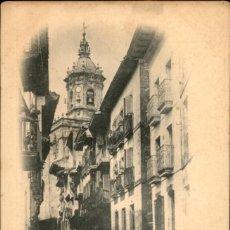 Postales: FUENTERRABIA – CALLE MAYOR – A.B. – SIN DIVIDIR – SIN CIRCULAR. Lote 138883090