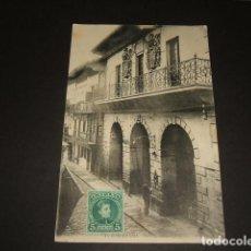 Postales: FUENTERRABIA GUIPUZCOA CASA CONSISTORIAL. Lote 138939146