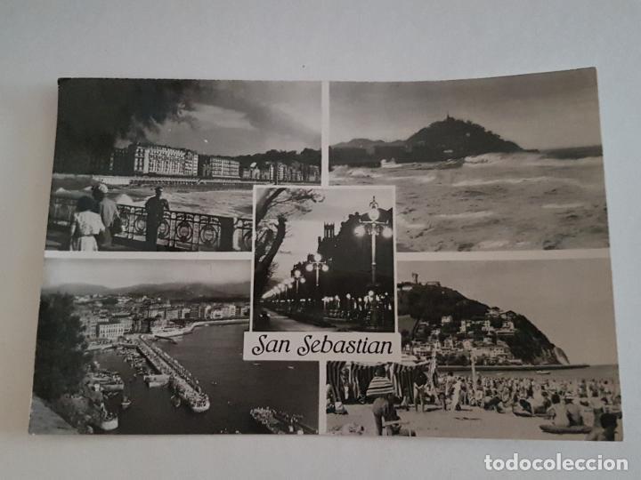 SAN SEBASTIAN VARIAS VISTAS GUIPUZCOA (Postales - España - Pais Vasco Antigua (hasta 1939))