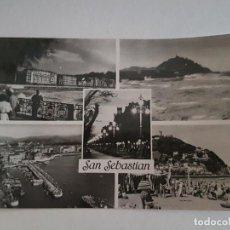 Postales: SAN SEBASTIAN VARIAS VISTAS GUIPUZCOA. Lote 138989958
