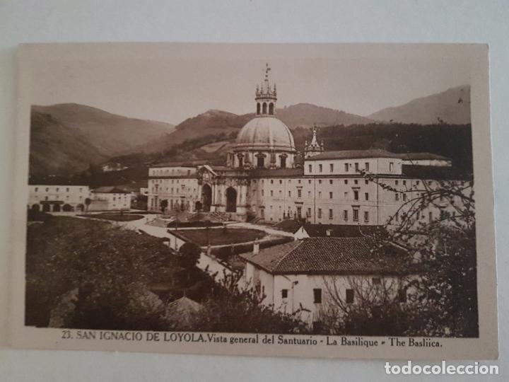 LOYOLA, SANTUARIO, VISTA BASILICA, GUIPUZCOA (Postales - España - Pais Vasco Antigua (hasta 1939))