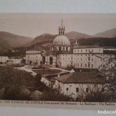 Postales: LOYOLA, SANTUARIO, VISTA BASILICA, GUIPUZCOA. Lote 138990218