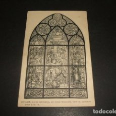 Postales - VITORIA NUEVA CATEDRAL EN CONSTRUCCIÓN CRIPTA VIDRIERA - 139044586