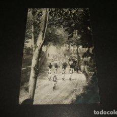 Postales: BILBAO BATALLÓN INFANTIL POSTAL FOTOGRAFICA CASA LUX HACIA 1910. Lote 139126618