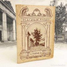 Postales: CASA DE JUNTAS DE GUERNICA. BILBAO 1936. ÁLBUM 20 VISTAS. Lote 139158098