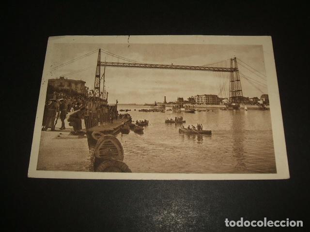 PORTUGALETE BILBAO PUENTE VIZCAYA (Postales - España - Pais Vasco Antigua (hasta 1939))