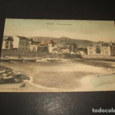 Postales: BERMEO VIZCAYA EL ARZA EN BAJAMAR PUBLICIDAD ANCHOAS ZOBARAN MONADA ATHOS Y MERKE. Lote 140028770