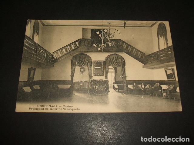 URBERUAGA VIZCAYA CASINO PROPIEDAD DE CEFERINO SARASQUETA (Postales - España - Pais Vasco Antigua (hasta 1939))