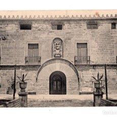 Postales: ZARAUZ. (GUIPUZCOA).- PALACIO DEL MARQUES DE NARROS. Lote 140535386