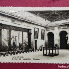 Postales: TARJETA POSTAL. GUERNICA . CASA DE JUNTAS MUSEO. M. ARRIBAS. Lote 140539314