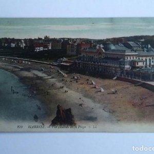 Biarritz Vista general de la palya