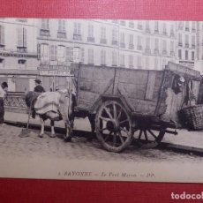 Postales: TARJETA POSTAL - BAYONA - 3.- BAYONNE - LE PONT MAYOU - PP - PAÍS VASCO FRANCÉS - . Lote 141853526