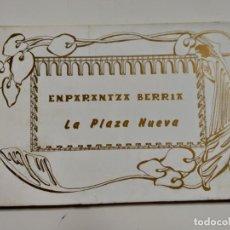 Postales: COLECCION DE POSTALES SOBRE LA PLAZA NUEVA DE BILBAO. AÑO 1991. Lote 142059222