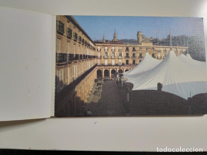 Postales: COLECCION DE POSTALES SOBRE LA PLAZA NUEVA DE BILBAO. AÑO 1991 - Foto 2 - 142059222