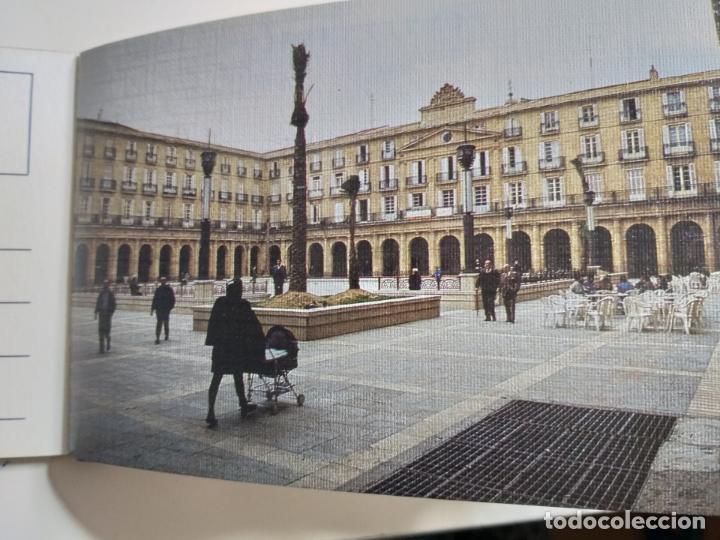 Postales: COLECCION DE POSTALES SOBRE LA PLAZA NUEVA DE BILBAO. AÑO 1991 - Foto 3 - 142059222