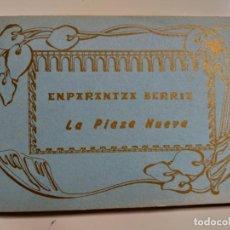 Postales: COLECCION DE POSTALES SOBRE LA PLAZA NUEVA DE BILBAO. AÑO 1991. Lote 142062082