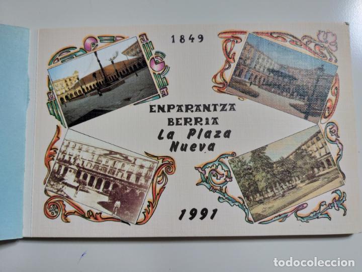 Postales: COLECCION DE POSTALES SOBRE LA PLAZA NUEVA DE BILBAO. AÑO 1991 - Foto 2 - 142062082