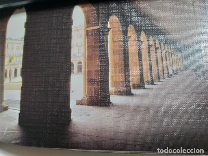 Postales: COLECCION DE POSTALES SOBRE LA PLAZA NUEVA DE BILBAO. AÑO 1991 - Foto 3 - 142062082