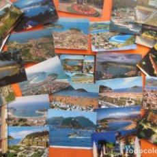 Postales: GUIPUZCOA - SAN SEBASTIAN - 37 POSTALES - 11 CIRCULADAS CON SELLOS AÑOS 60/70 AEREAS AEREA. Lote 143261306