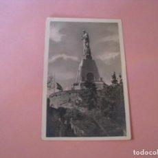 Postales: POSTAL DE SAN SEBASTIAN. MONTE URGULL. MONUMENTO AL SAGRADO CORAZÓN. FOTO GALARZA. CIRCULADA.. Lote 143323818