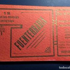Postales: 12 TARJETAS POSTALES FUENTERRABIA PRINCIPIOS SIGLO XX. Lote 143702358