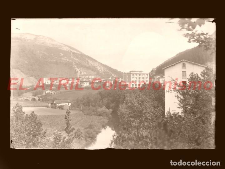 7 CLICHES ORIGINALES - CESTONA, GUIPUZCOA - NEGATIVOS CRISTAL - EDICIONES ARRIBAS (Postales - España - Pais Vasco Antigua (hasta 1939))