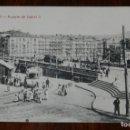 Postales: POSTAL DE BILBAO, PUENTE DE ISABEL II, ED. G.G.M. NO CIRCULADA.. Lote 144391878