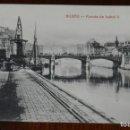 Postales: POSTAL DE BILBAO, PUENTE DE ISABEL II, ED. G.G.M. NO CIRCULADA.. Lote 144391986
