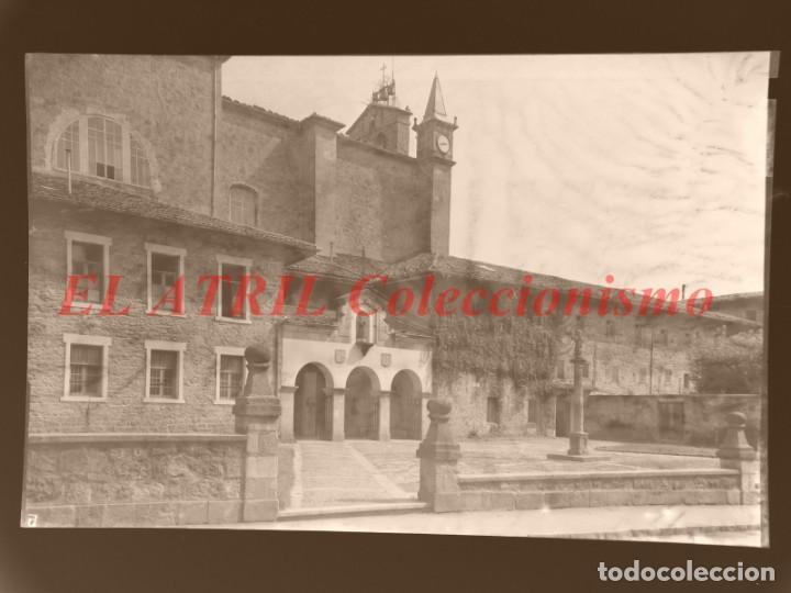 11 CLICHES - ZARAUZ, GUIPUZCOA - NEGATIVOS EN CELULOIDE - EDICIONES ARRIBAS (Postales - España - Pais Vasco Antigua (hasta 1939))