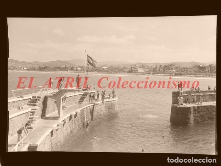 Postales: 11 CLICHES - ZARAUZ, GUIPUZCOA - NEGATIVOS EN CELULOIDE - EDICIONES ARRIBAS - Foto 15 - 144459998