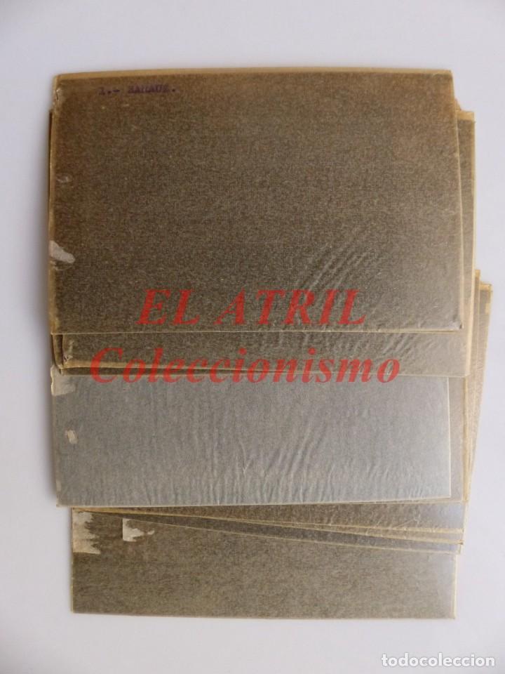 Postales: 11 CLICHES - ZARAUZ, GUIPUZCOA - NEGATIVOS EN CELULOIDE - EDICIONES ARRIBAS - Foto 24 - 144459998