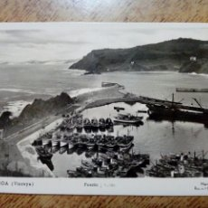 Postales: POSTAL CIRCULADA - ONDARROA. PUERTO Y COSTA. EDICIONES MANIPEL - FRANQUEADA, ESCRITA 1952 -. Lote 145196126