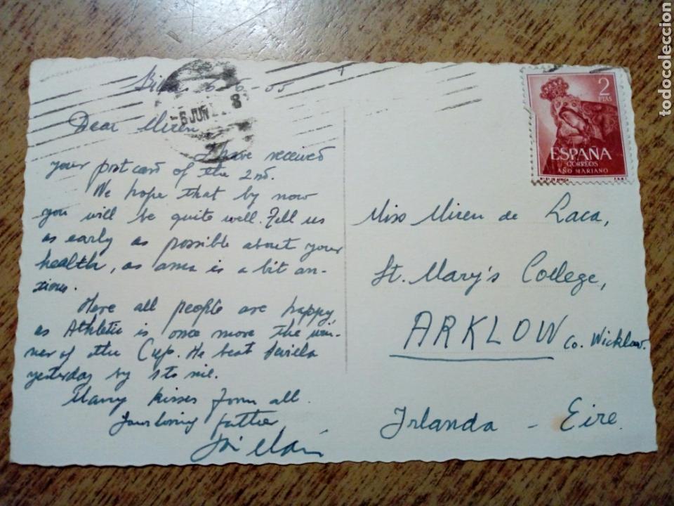 Postales: POSTAL circulada - 120. ALGORTA Vista desde el ayuntamiento.Ed. Madyma - franqueada, escrita 1955 - - Foto 2 - 145197358