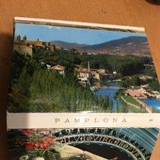 Postales: 20 MINI POSTALES DE PAMPLONA. Lote 145336697