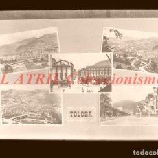 Postales: 1 CLICHE ORIGINAL - TOLOSA, GUIPUZCOA - NEGATIVO EN CRISTAL - EDICIONES ARRIBAS. Lote 145481358