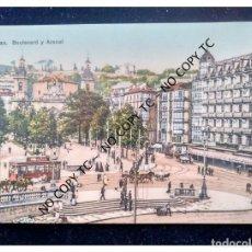 Postales: BILBAO VIZCAYA PAÍS VASCO BOULEVARD Y ARENAL L.G BILBAO. Lote 146521194