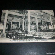 Postales: SAN SEBASTIAN ROYALTY GRAN CAFE AVENIDA DE LA LIBERTAD 11. Lote 146960938