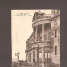 Postales: 1 POSTAL DE SAN SEBASTIAN MONTE IGUELDO -CASINO. Lote 147008462