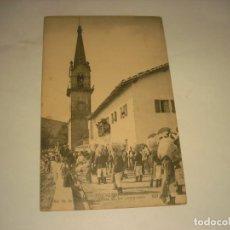 Postales: FUENTERRABIA 112 . NA SA DE GUADALUPE. SALIDA DE LOS PEREGRINOS . SIN CIRCULAR. Lote 147038238