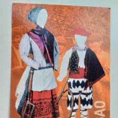 Postales: POSTAL DEL MUSEO VASCO DE BILBAO. EXPOSICIÓN PASADO DE MODA. TRAJE POPULAR.. Lote 147265142