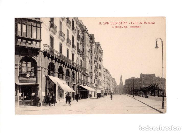 SAN SEBASTIÁN.(GUIPÚZCOA).- CALLE HERNANI (Postales - España - Pais Vasco Antigua (hasta 1939))