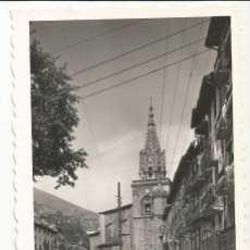 Postales: AZPEITIA - CALLE DE SANTIAGO. AL FONDO, IGLESIA PARROQUIAL - Nº 5 ED. J. IRAZU. Lote 147380330