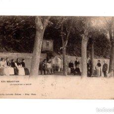 Postales: SAN SEBASTIÁN.- LA FUENTE DE LA SALUD. Lote 147479946