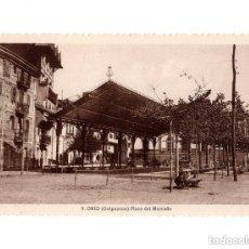 Postales: ORIO.(GUIPUZCOA).- PLAZA DEL MERCADO. Lote 147481086