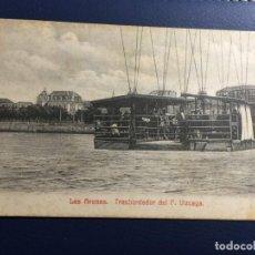 Postales: EL TRANSBORDADOR DEL PUENTE VIZCAYA. Lote 147502326