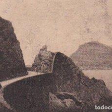 Postales: POSTAL ORIGINAL. DÉCADA 30. GUIPUZCOA.ZARAUZ. CAMINO DE GUETARIA. Nº 1307. Lote 147575010