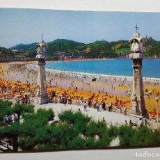 Postales: SAN SEBASTIAN PLAYA DE LA CONCHA. Lote 147603166