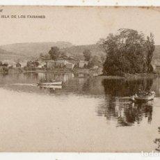 Postales: IRÚN. ISLA DE LOS FAISANES.. Lote 147638698