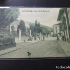 Postales: VALMASEDA VIZCAYA PASEO DE LA BANQUETA. Lote 147778362