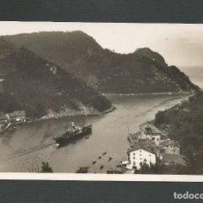 Postales: POSTAL SIN CIRCULAR - SAN SEBASTIAN 472 - CANAL DEL PUERTO DE PASAJES - EDITA FOTO GALARZA. Lote 148175886
